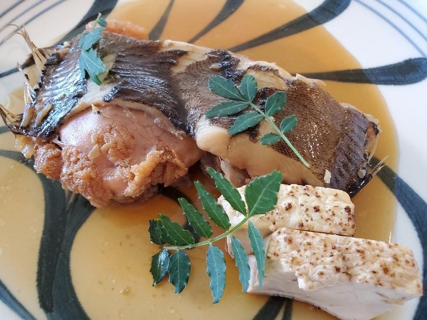 はちみつ醤油で煮魚 ナメタガレイ