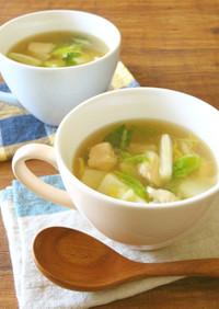 これ!うま!!ささみと白菜の生姜スープ