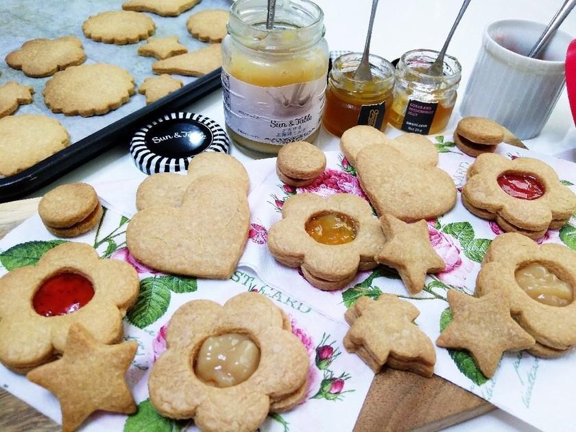 手づくりクッキー★いろいろジャムサンド