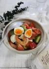 えびとアボカドとトマトのDELI風サラダ