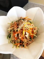にんじんと水菜のサラダ 覚書の写真