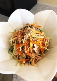 にんじんと水菜のサラダ 覚書