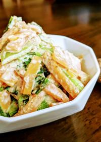 【減塩レシピ】野菜のくるみ和え