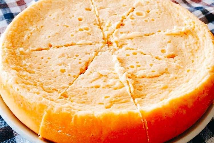 器 作る 炊飯 ケーキ で チーズ