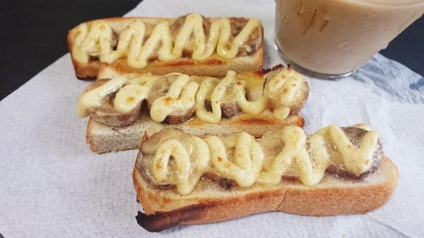 バナナ*ハニーマヨトースト