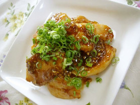 美味いよ!鶏の味噌マヨ炒め