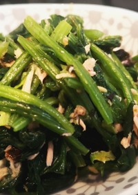 ほうれん草とツナと韓国海苔のナムル