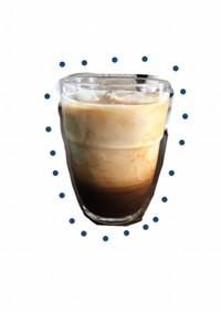 【おうちカフェ】はちみつとカフェオレ風