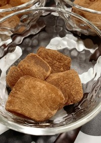 チョコプロテインわらび餅(タピオカ粉)