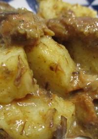 5分で簡単♪サバ味噌煮缶と長芋のゴマ炒め