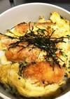 アレンジ無限大!海老フライ卵とじ丼