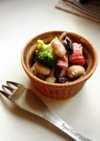 お弁当*サラダ*ブロッコリー茎