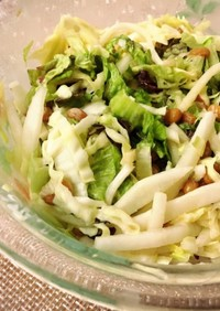 【簡単】納豆サラダ