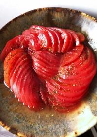 トマトのコンポート風サラダ