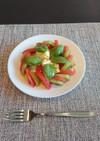 トマトとキウイのカプレーゼ風サラダ