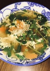 栄養たっぷり生姜スープ
