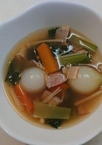 ペコロスの美味しいスープ