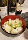 生キャベツのサラダ~オリーブ油と塩~