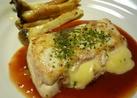 ♡◎カジキマグロのチーズはさみソテー