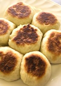 フライパンで簡単ちぎりパン