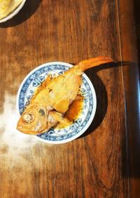 金目鯛の甘煮付け