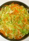鶏ひき肉キャベツ炒め煮♪簡単カレー味