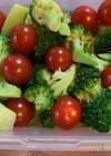 ブロッコリーとミニトマトのおひたし