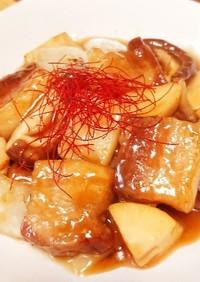 茹で豚揚げるぜ!☆黒酢の柔らか『黒酢豚』