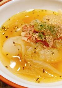 玉ねぎ大量消費!圧力調理で絶品スープ