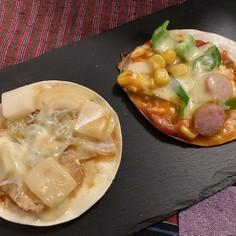 簡単!餃子の皮ピザ