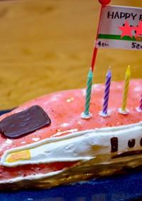 バースデーケーキ 5歳 覚書