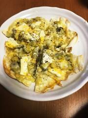 キウイチーズピザの写真