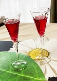 ザラメで作る 紫蘇ジュース