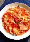 トマトの玉ねぎドレッシングマリネサラダ