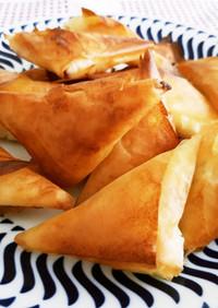 ティロピタキア:フェタチーズの包み焼き