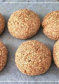 糖質制限 簡単丸パン