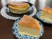 スフレチーズケーキの写真