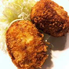 ☆我が家のチーズ入りポテトコロッケ☆