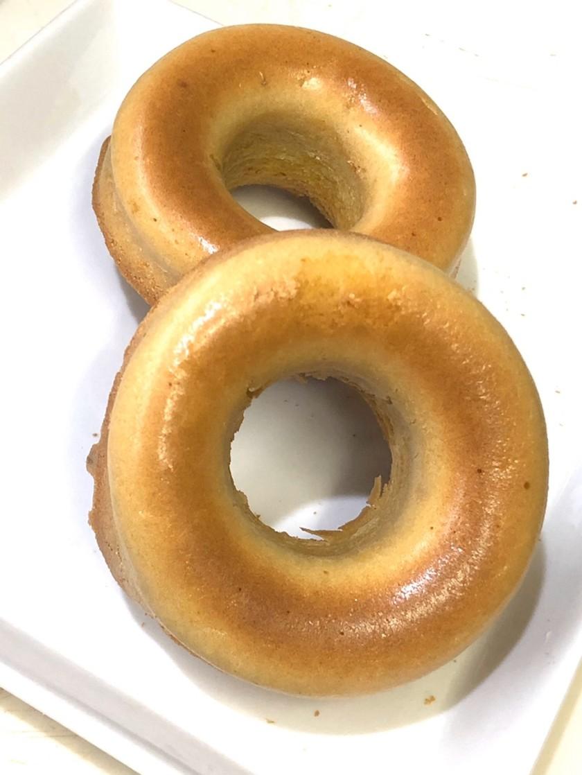 最高!焼ドーナツ米粉と薄力粉でふんわり
