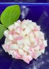 ピンクピンク!可愛い紫陽花ごはん!