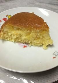 カットパイン&HMで簡単パウンドケーキ