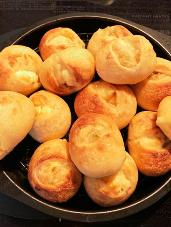 レモンジャムとクリームチーズのパン