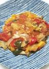 フレッシュトマトの煮込みハンバーグ