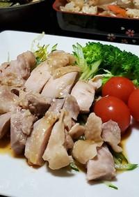 もやし&きゅうり☆茹で鶏の中華風