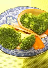 お弁当に ハムと野菜