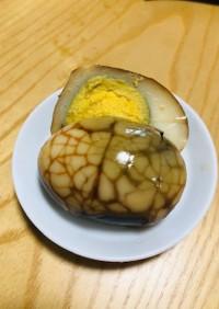 台湾料理茶葉蛋(チャーイエダン)