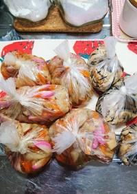 ちらし寿司の具は冷凍しますよ(^o^)v