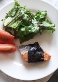 お弁当にも☆のりまき焼き鮭