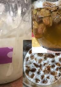 レーズン酵母とレーズン元種の作り方
