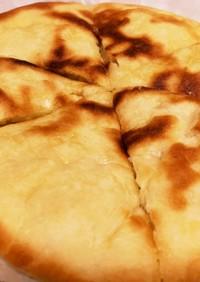 薄力粉とBPで簡単チーズナン